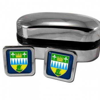 County Kerry Ireland Square Cufflinks