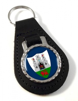 Kilkenny City (Ireland) Leather Key Fob