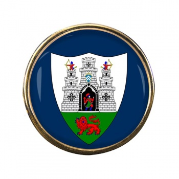 Kilkenny City (Ireland) Round Pin Badge