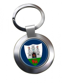 Kilkenny City (Ireland) Metal Key Ring