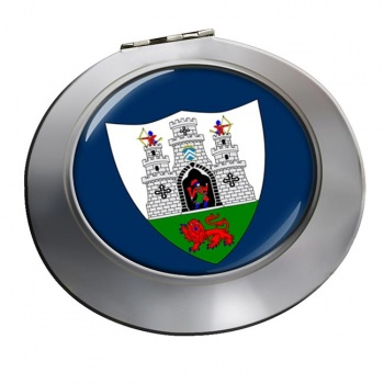 Kilkenny City (Ireland) Round Mirror