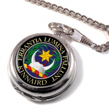 Kinnaird Scottish Clan Pocket Watch