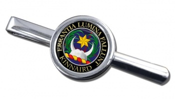 Kinnaird Scottish Clan Round Tie Clip