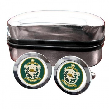 Kitchener (Canada) Crest Cufflinks