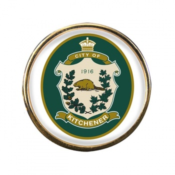 Kitchener (Canada) Round Pin Badge