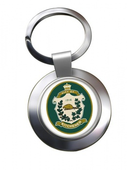 Kitchener (Canada) Metal Key Ring