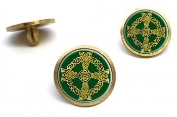 Celtic knot cross Golf Ball Marker Set