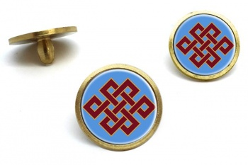 Endless Knot of Eternity Golf Ball Markers