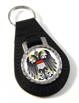 Koln Cologne (Germany) Leather Key Fob