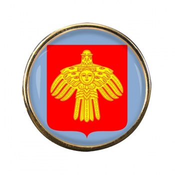 Komi Round Pin Badge