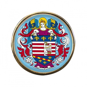 Kosice Round Pin Badge