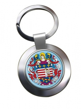 Kosice Metal Key Ring