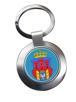 Krakow (Poland) Metal Key Ring