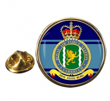 Laarbruch Round Pin Badge
