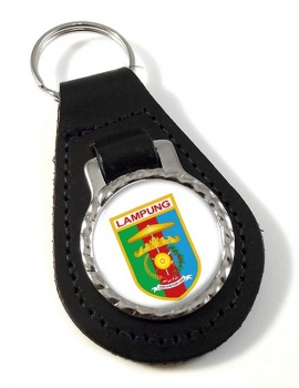 Lampung (Indonesia) Leather Key Fob