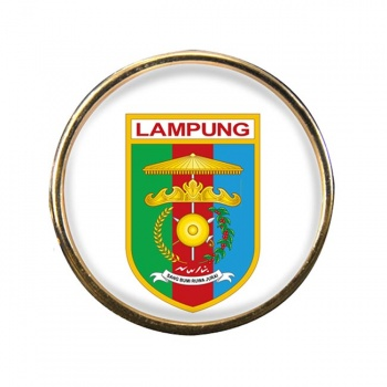 Lampung (Indonesia) Round Pin Badge