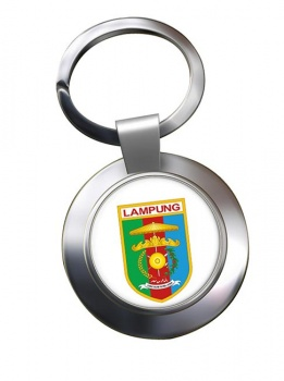 Lampung (Indonesia) Metal Key Ring