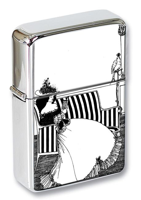 Smither's cover by Aubrey Beardsley Flip Top Lighter