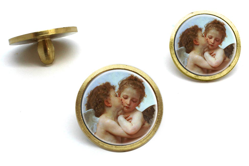 l'amour et psyche enfants by Bouguereau Golf Ball Marker Set