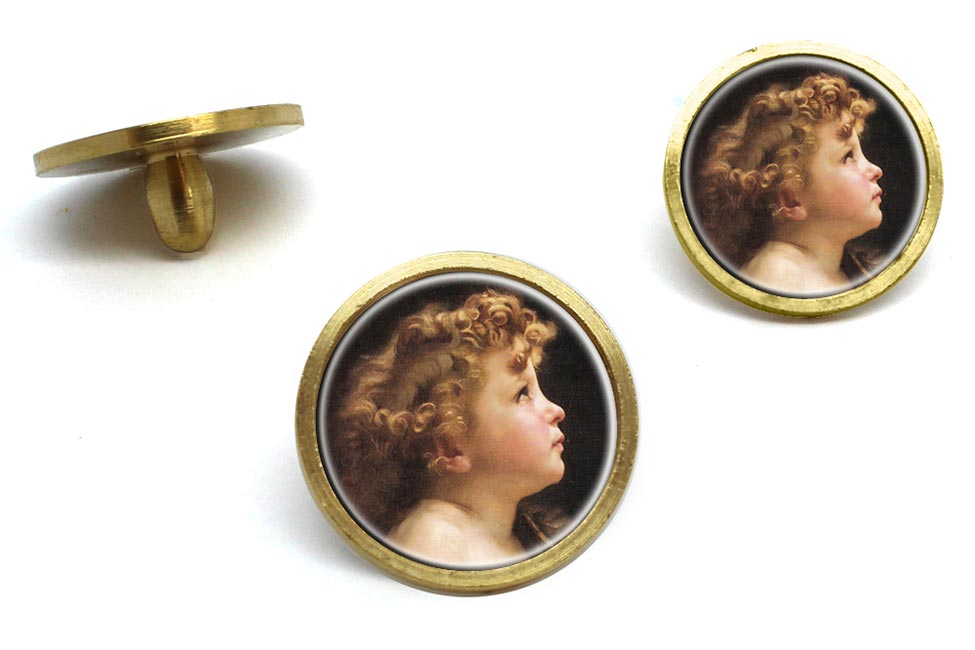 Young John the Baptist by Bouguereau Golf Ball Marker Set