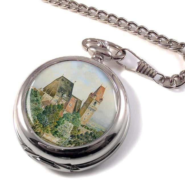 Austrian Church by Adolf Hitler Pocket Watch