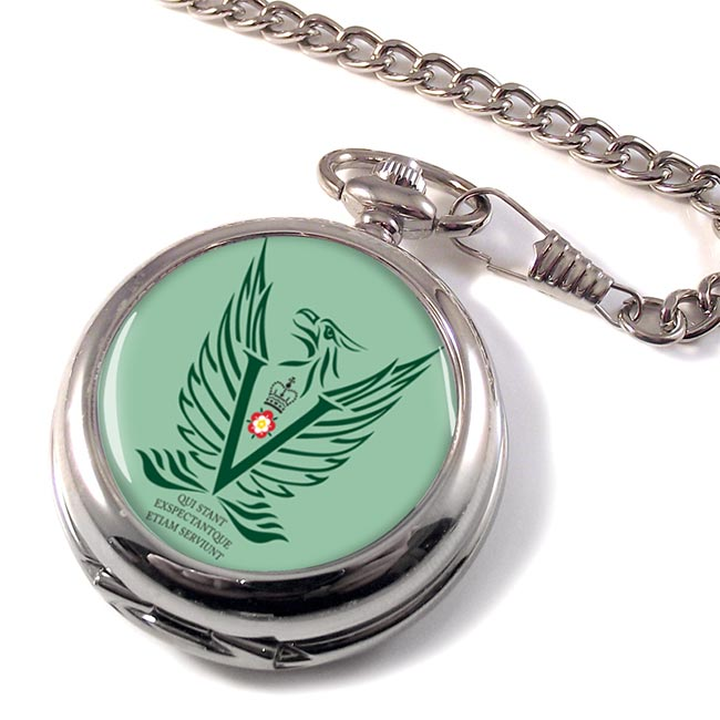 5 Military Intelligence Battalion Pocket Watch