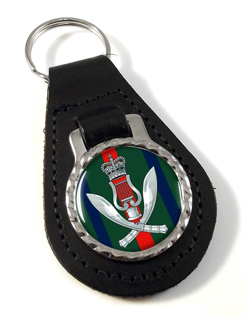 Gurkha Band Leather Key Fob