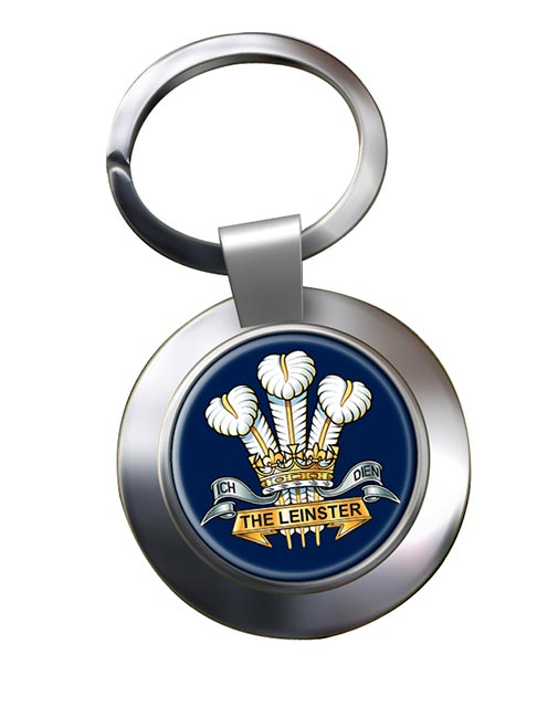Prince of Wales's Leinster Regiment Chrome Key Ring