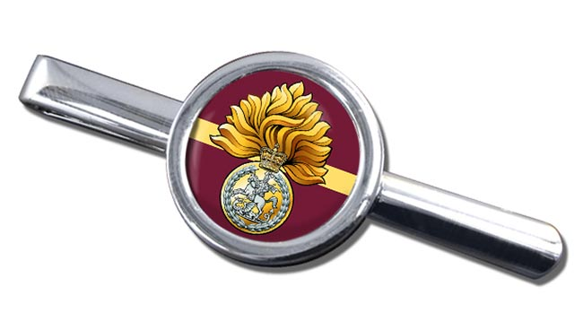 Royal Regiment of Fusiliers Badge Round Tie Clip