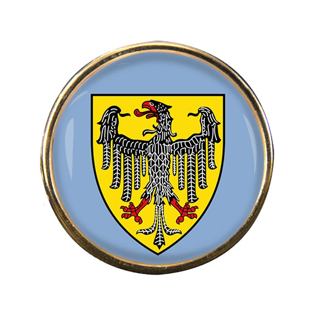 Aachen (Germany) Round Pin Badge