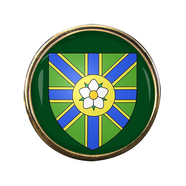 Abbotsford (Canada) Round Pin Badge