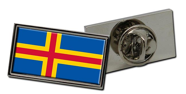 Aland Flag Pin Badge
