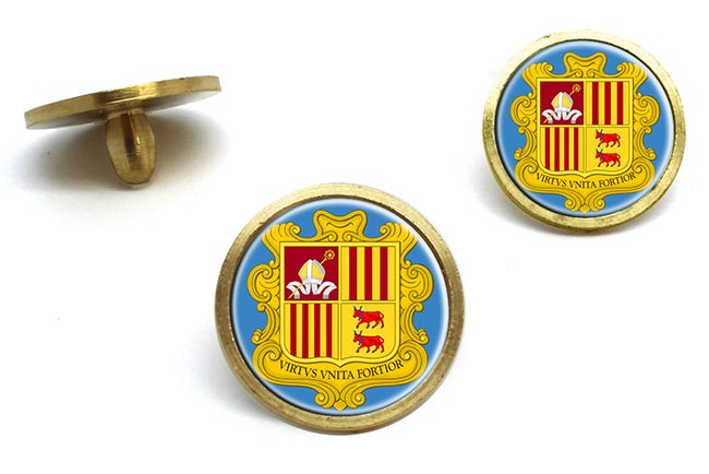 Andorra Golf Ball Marker