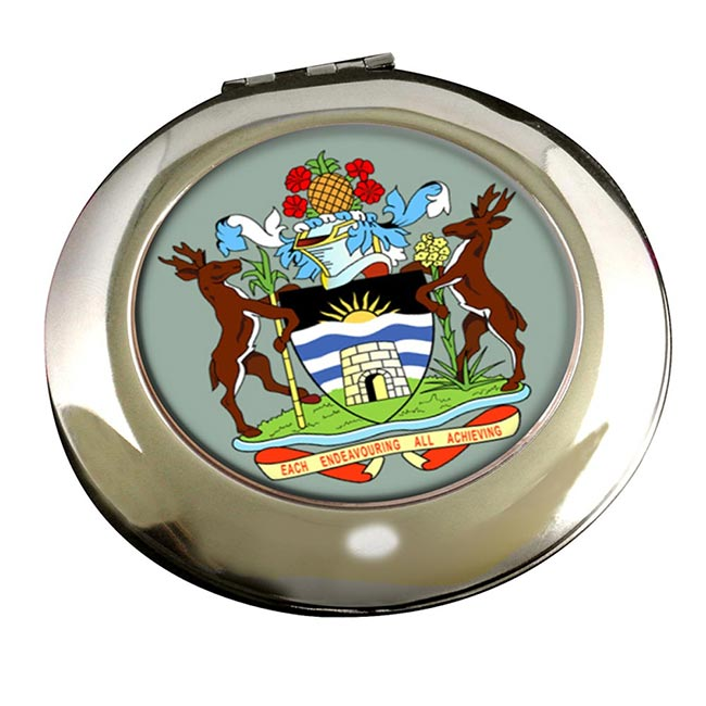 Antigua-and-Barbuda Round Mirror