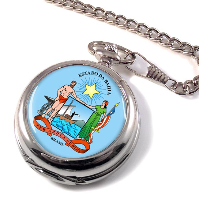 Bahia (Brasil) Pocket Watch