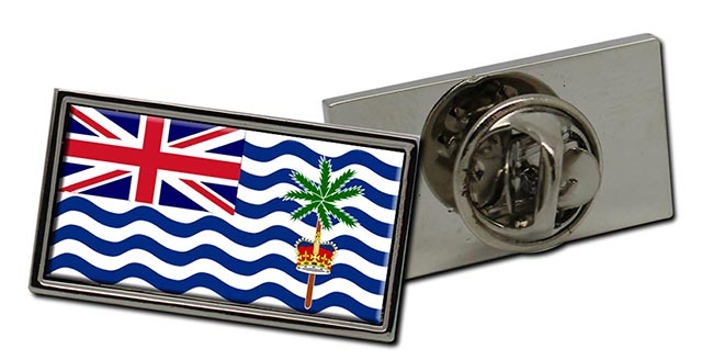 British Indian Ocean Territory Flag Pin Badge