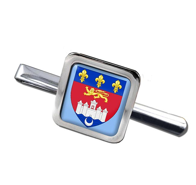 Bordeaux (France) Square Tie Clip
