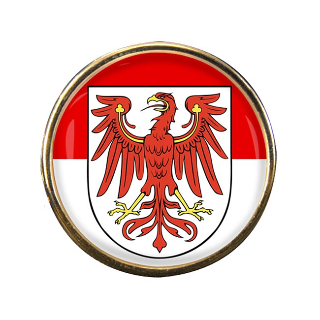 Brandenburg (Germany) Round Pin Badge