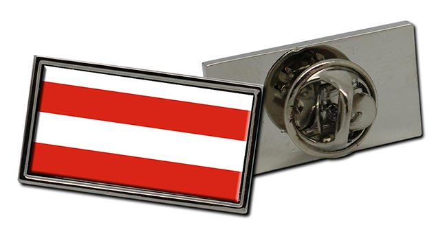 Brno (Czech) Flag Pin Badge