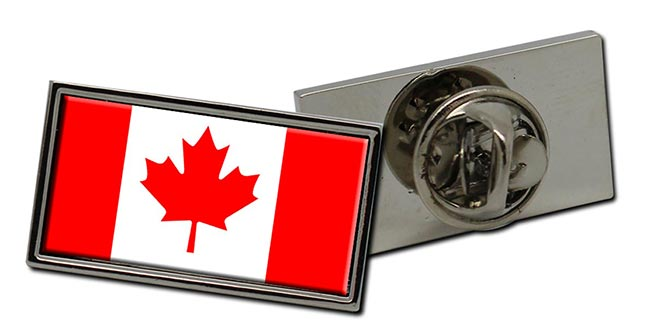Canada Flag Pin Badge