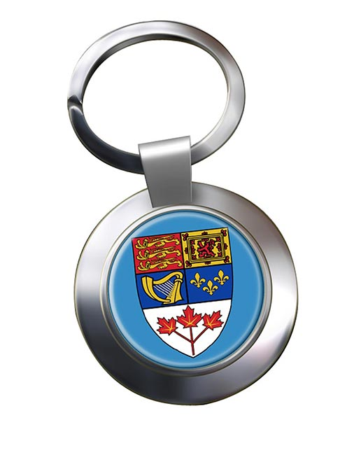 Canada Coat of Arms Metal Key Ring