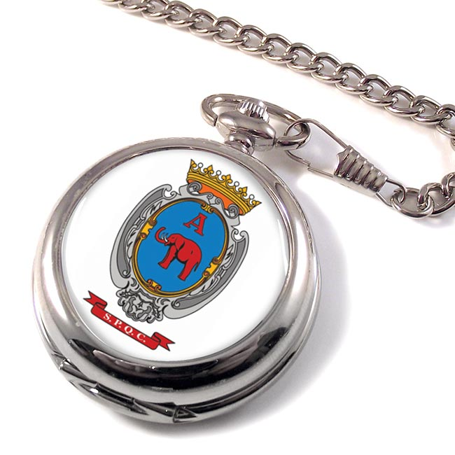 Catania (Italy) Pocket Watch