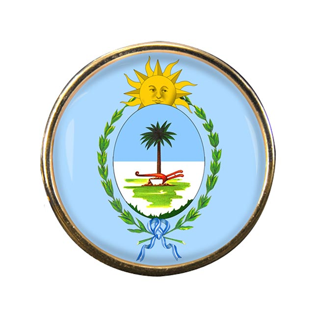 Argentine Chaco Round Pin Badge