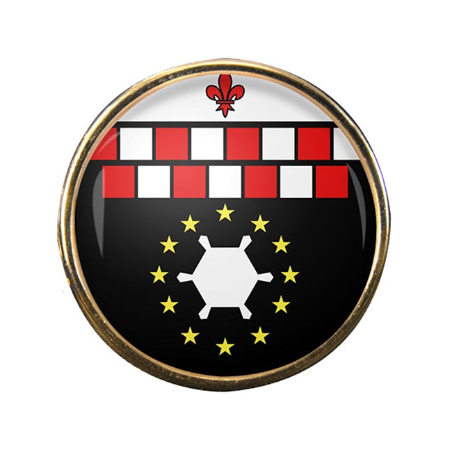 Charleroi (Belgium) Round Pin Badge