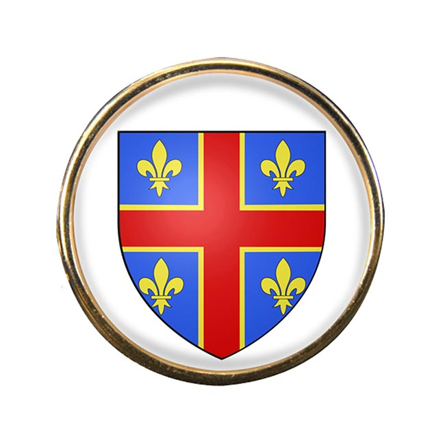 Clermont-Ferrand (France) Round Pin Badge