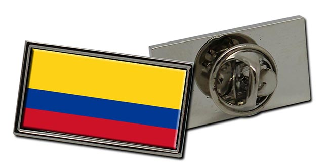 Colombia Flag Pin Badge
