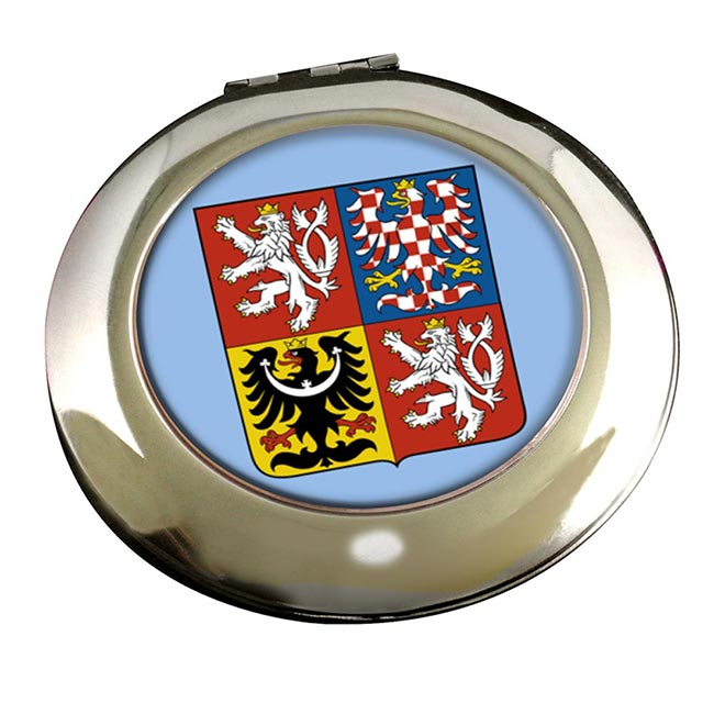 Czech Republic Round Mirror