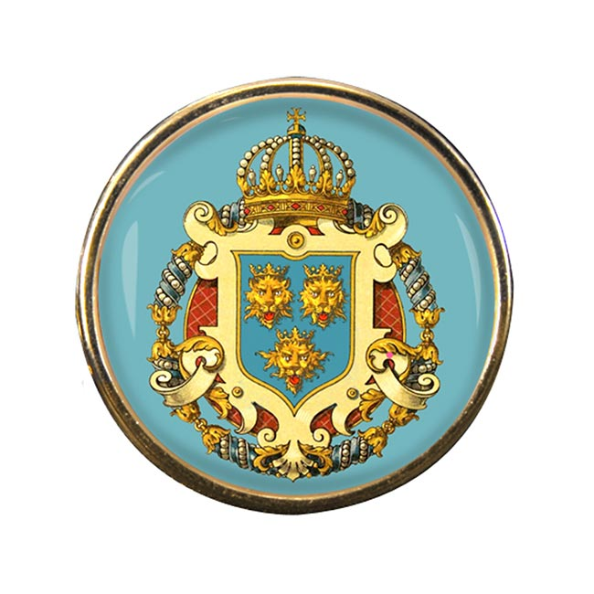 Dalmatia Dalmacija (Croatia) Round Pin Badge