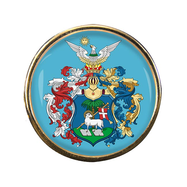 Debrecen Round Pin Badge