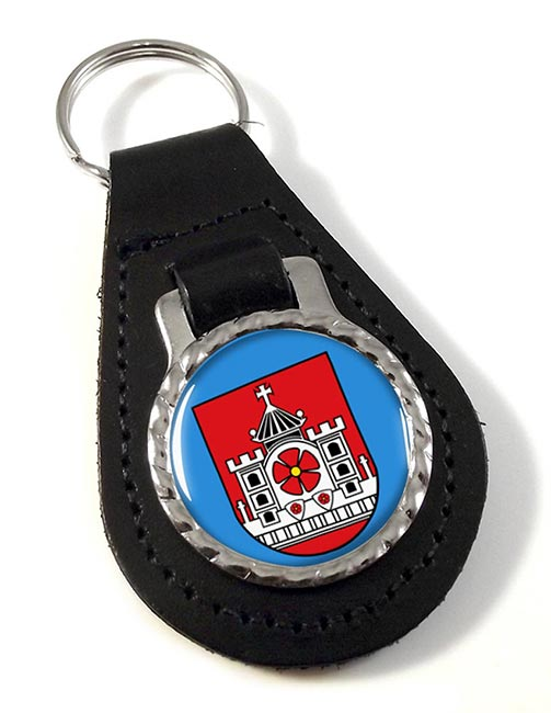 Detmold (Germany) Leather Key Fob